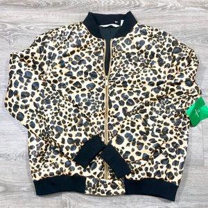 Liz Claiborne leopard jacket
